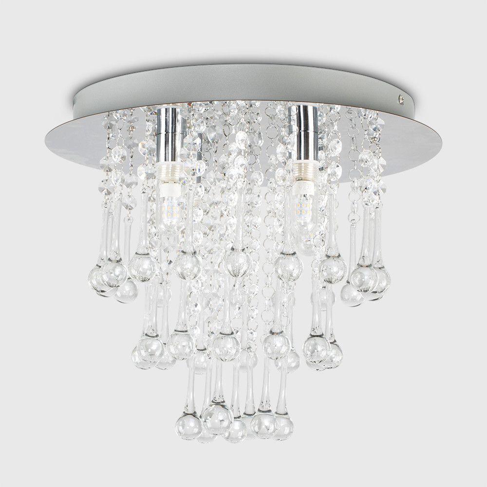 Cascata Ip44 K5 Crystal Ceiling Light Crystal Ceiling Light