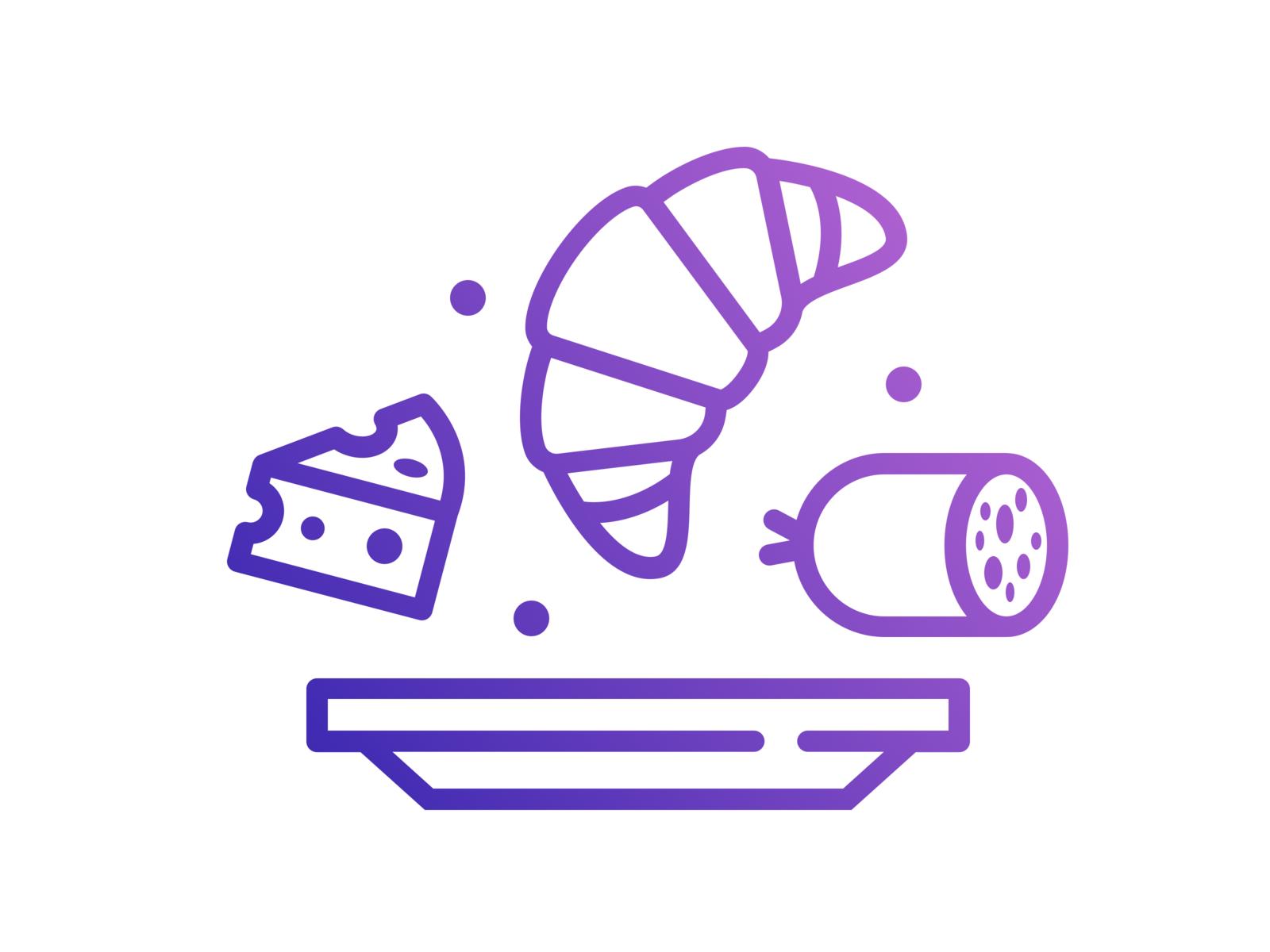 Breakfast Icon For A Coffee Shop Icon Coffee Shop Coffee Shop Design