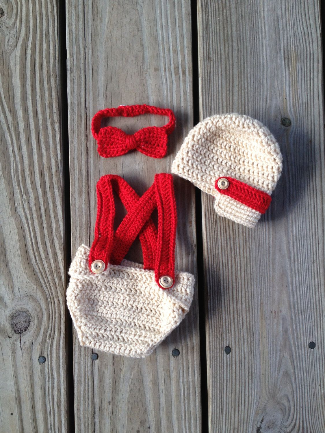 PDF Newsboy hat - diaper cover - Bow tie - crochet pattern - photo ...