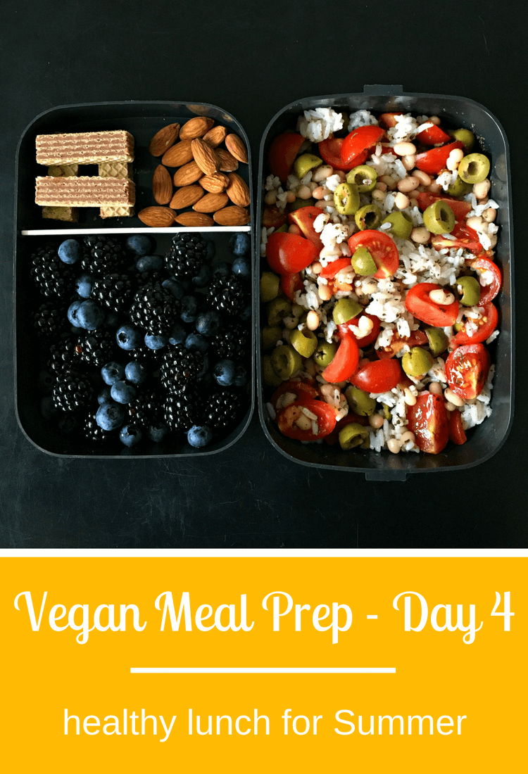 4 Day Vegan Meal Prep For Summer Quick Easy Vegan Yummy