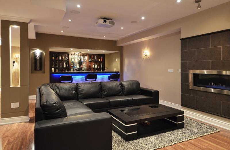 Exceptional Basement Designs Part - 3: 23+ Most Popular Small Basement Ideas, Decor And Remodel