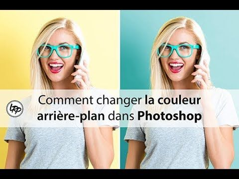 how to change background color in photoshop youtube corregir
