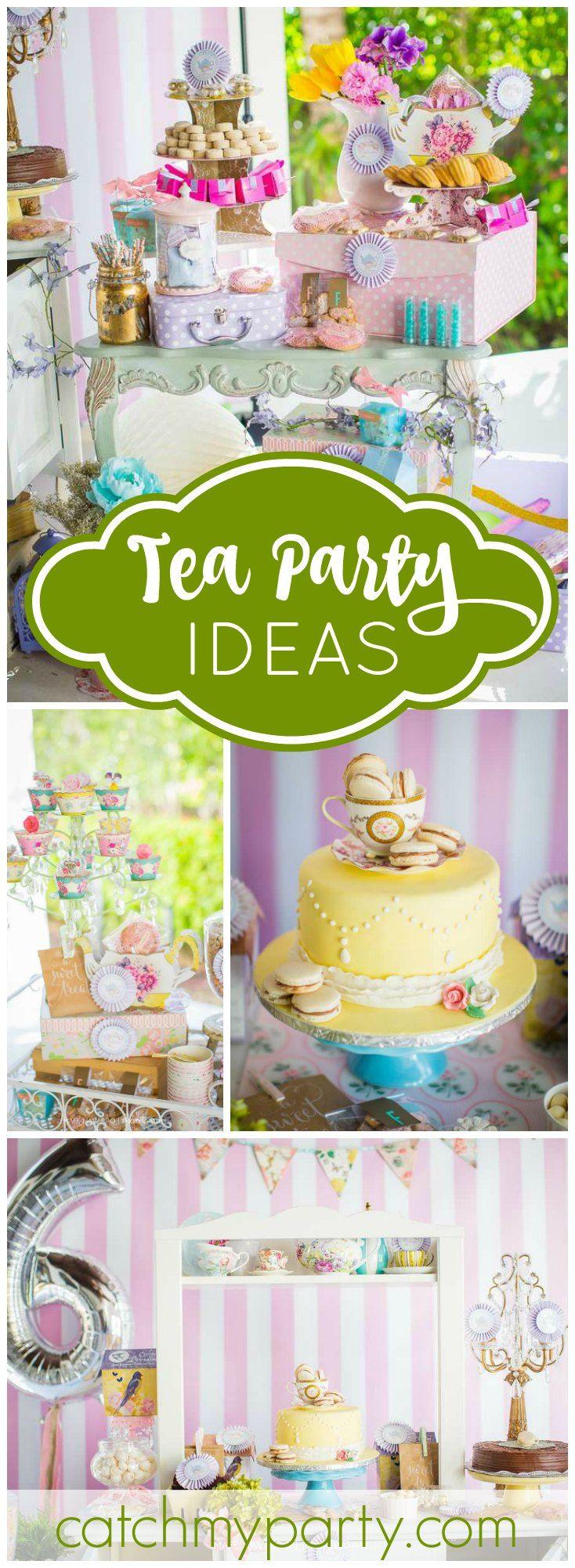 Tea Party / Birthday \