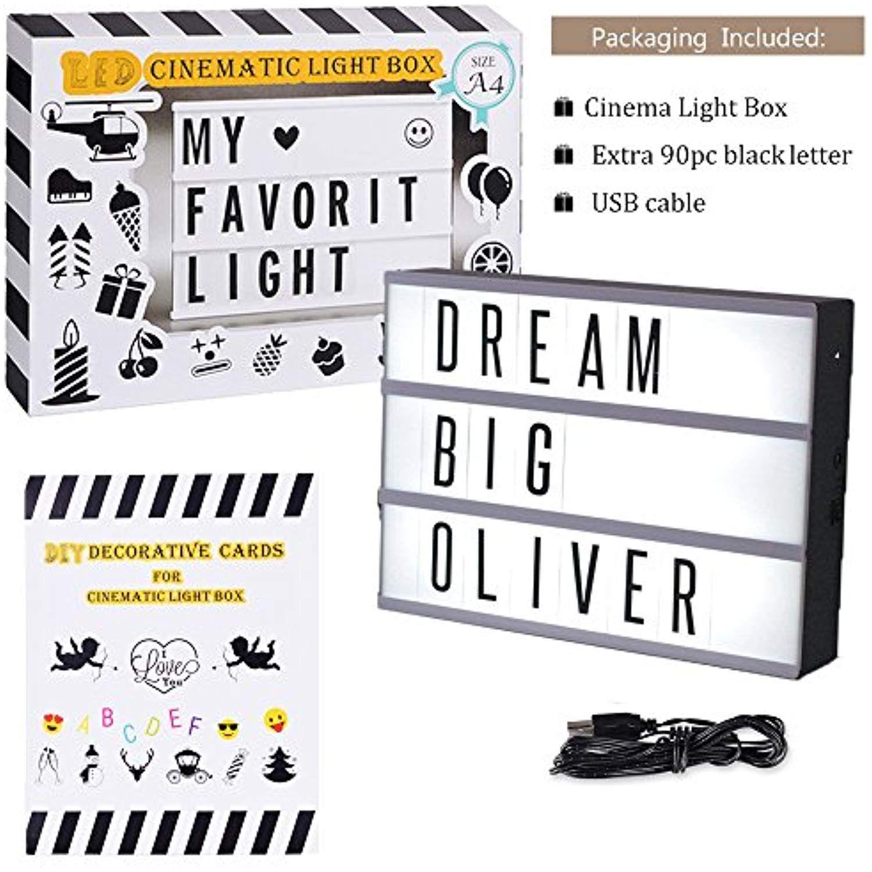 Mini LED Cinema Light Box Doingart Cinematic Light Box