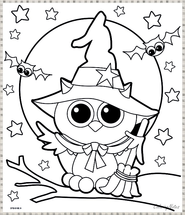 Free Printable Halloween Coloring Pages For Kids Free Halloween Coloring Pages Owl Coloring Pages Halloween Coloring Book