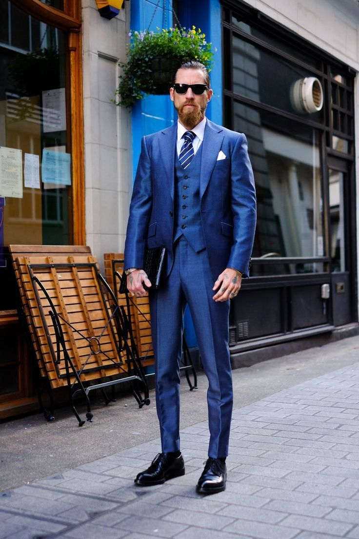 Navy Blue Suit Combinations Wedding
