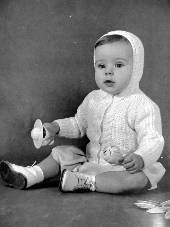 ed47599b0b69 Knit Baby Sweater Pattern