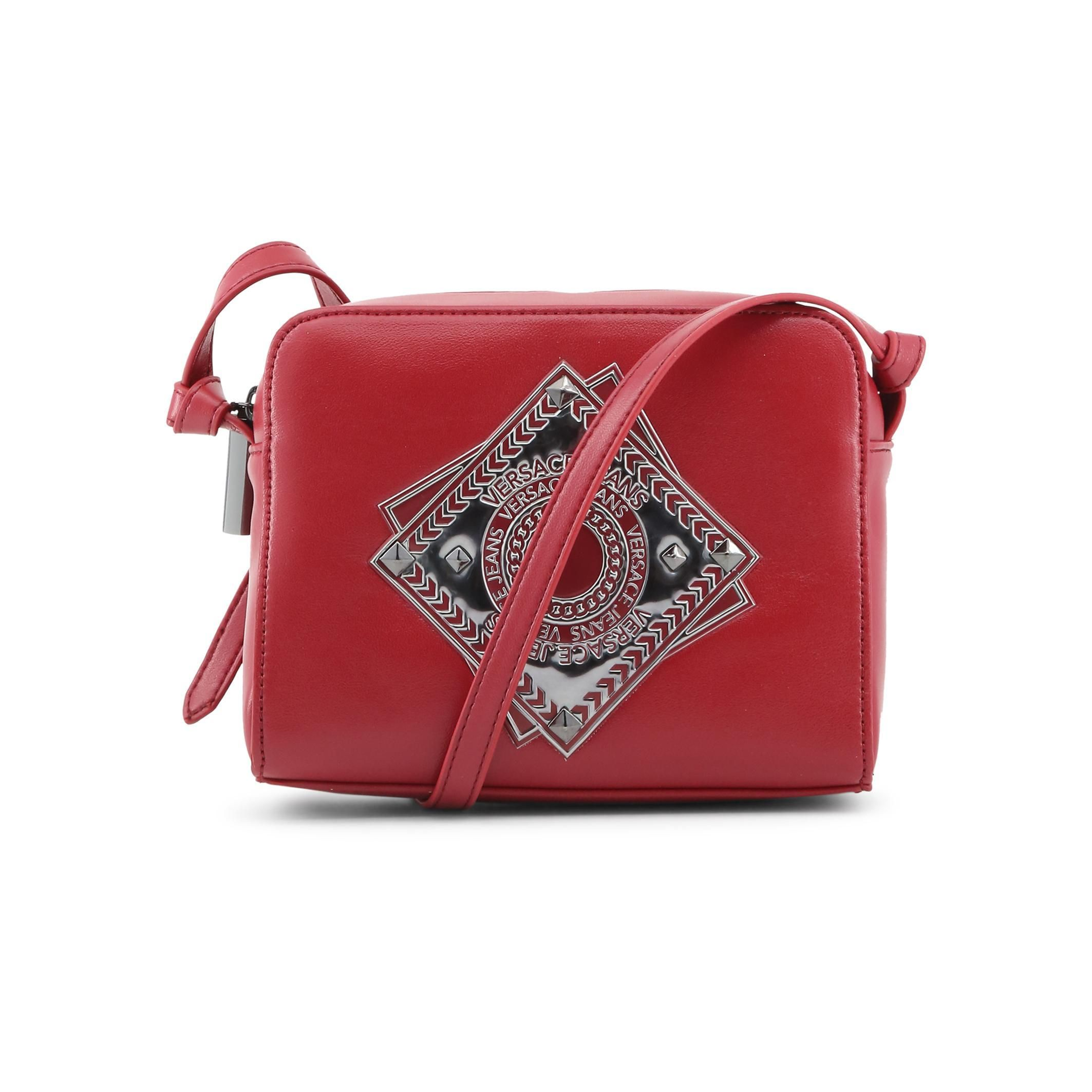 c78c6bae2cd6 Versace Jeans Red Leather Clutch Bag