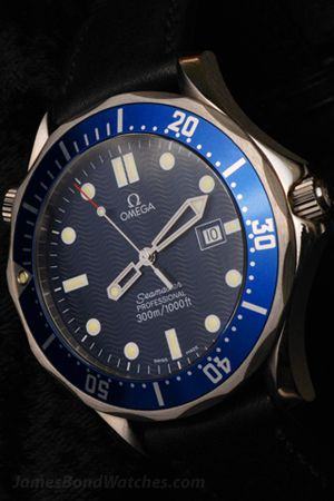 Goldeneye James Bond Watch Omega Seamaster James Bond Omega