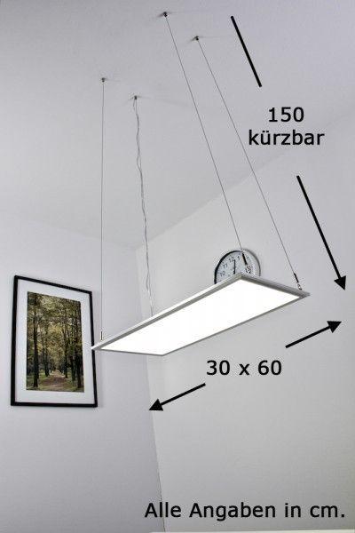 Details zu Led Panel Panel - Hängelampe Pendellampe Bürolampe - led panel küche