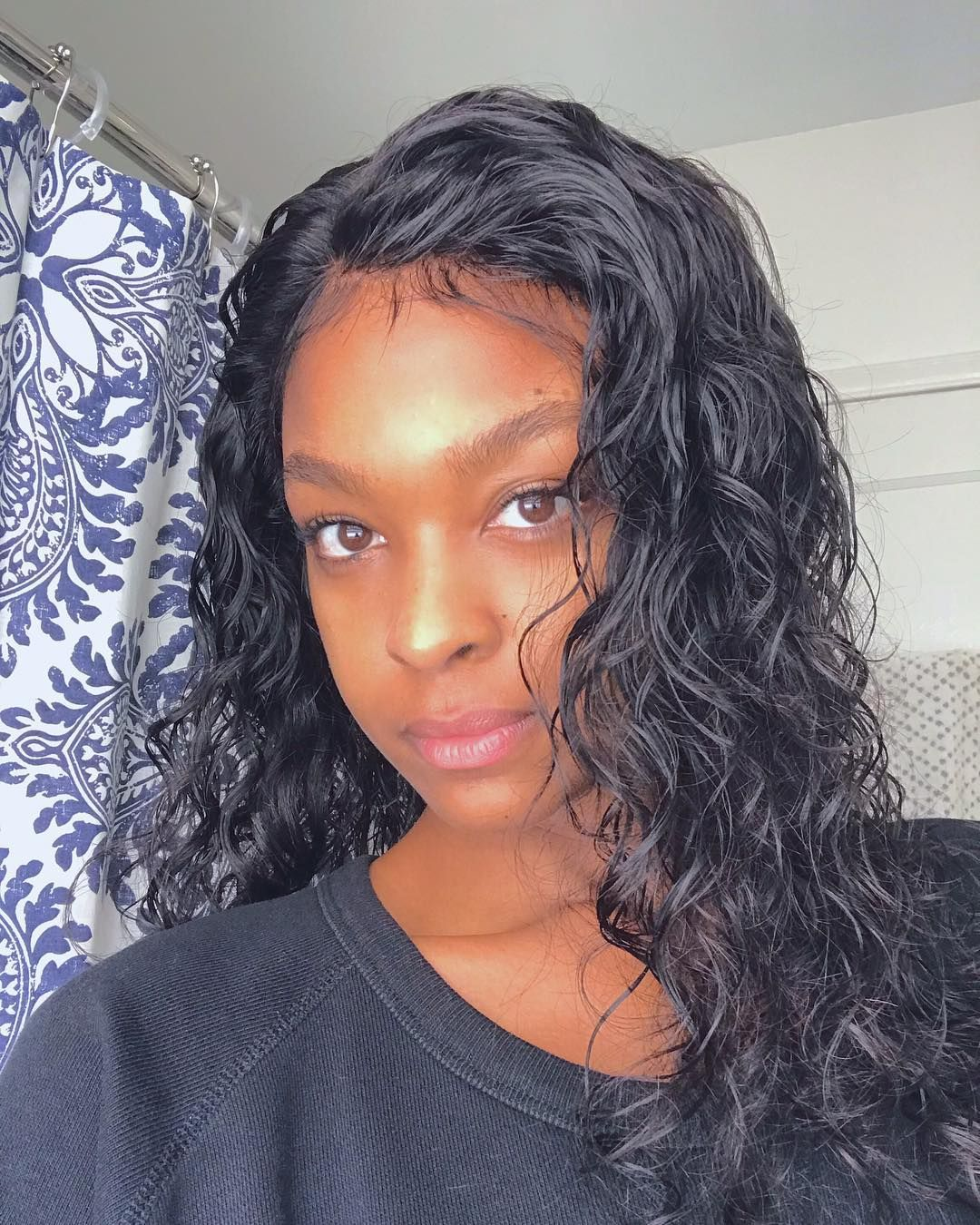 Ciara celebrity lace wig natural wave fake scalp lace