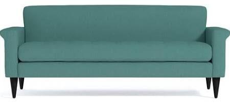 seafoam leather sofa - Google Search