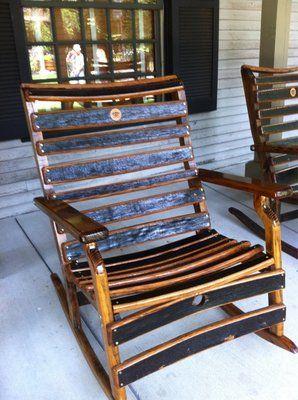 Whiskey Barrel Rocking Chair Yelp Jack Daniels
