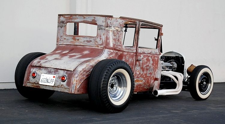 1927 Ford Model T 2 Door Chopped And Channeled Rat Rat Rod Rat