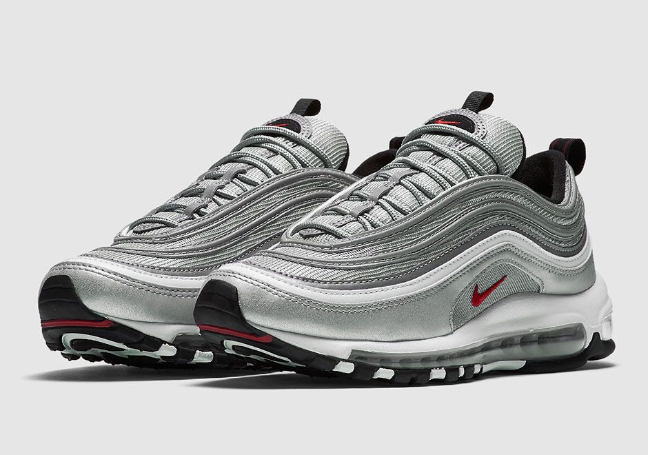 nike air max 97 og qs 884421 001 silver pinterest air max 97