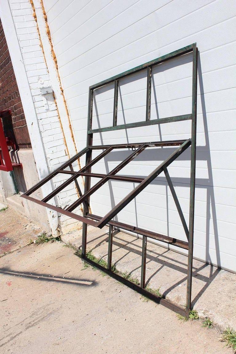 Antique factory casement metal window. Please note that we ...