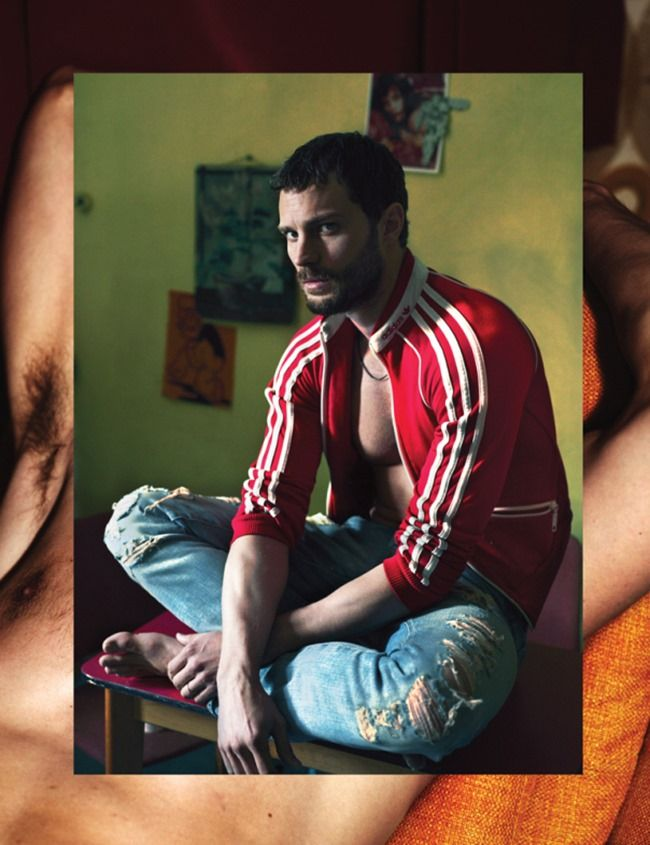 INTERVIEW MAGAZINE Jamie Dornan by Mert & Marcus. Karl Templer, June 2014