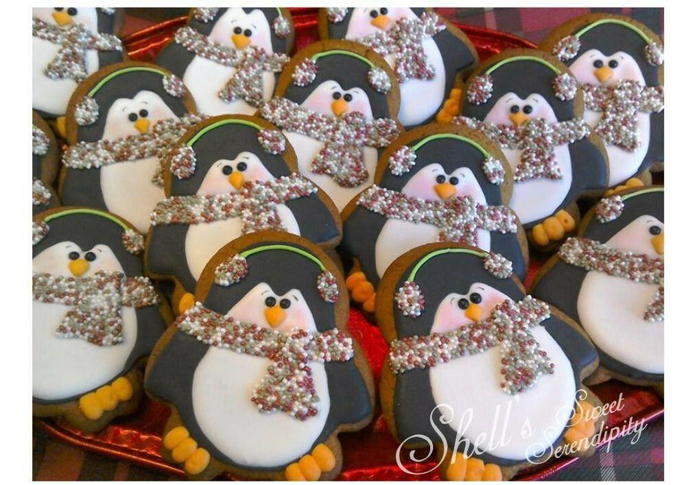 Penguin cookies - Shell's Sweet Serendipity