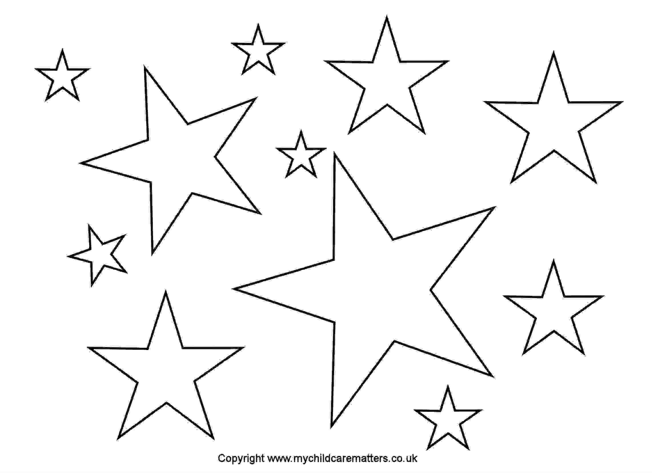 Star outline images stars outline greeting cards black