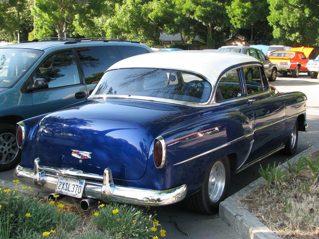 54 Chevy 2 Door - Bing Images | 1954 chevy 210delray | Pinterest ...
