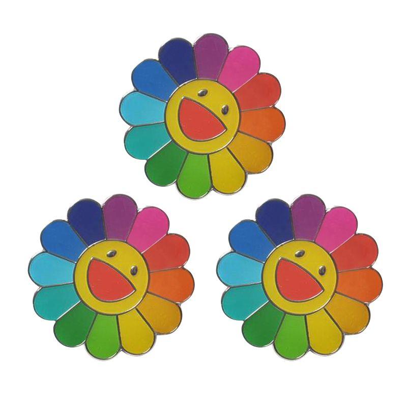 3c4ac0d9c Takashi Murakami Flower Pins | Pins and Brooches in 2019 | Murakami ...
