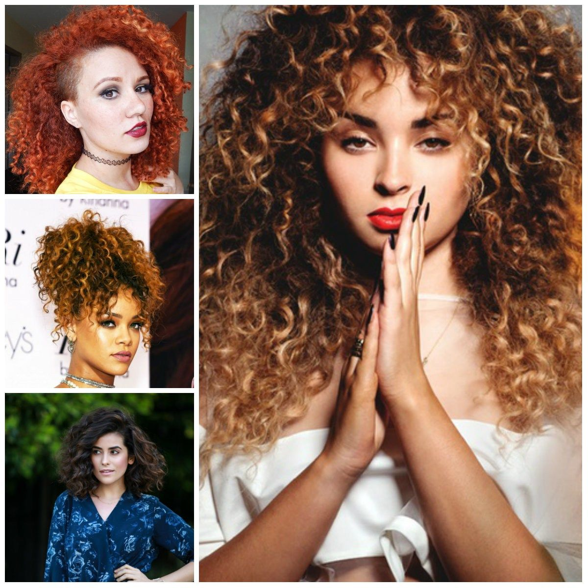 Letus know about different types of haircut for curly hair