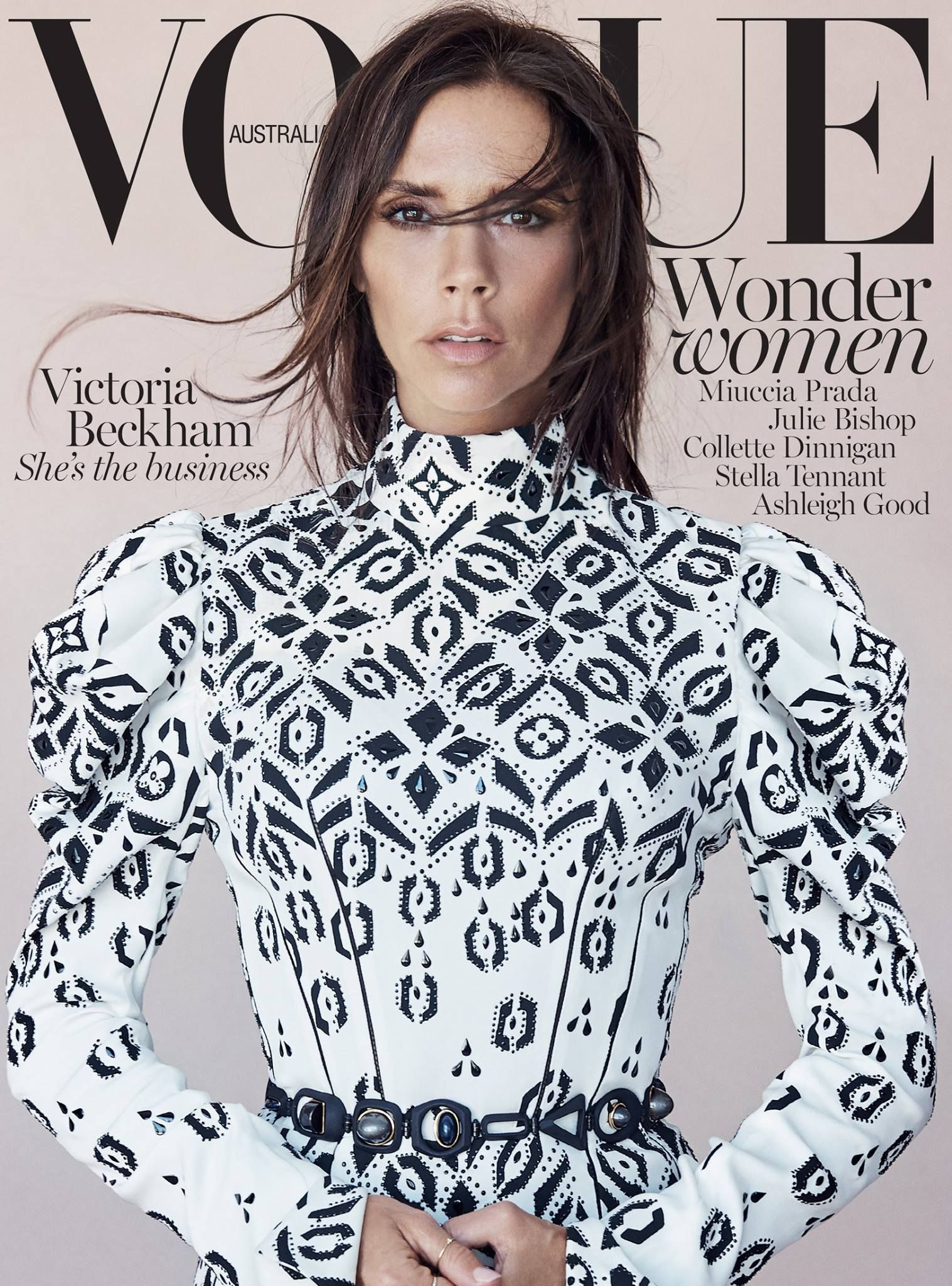 Victoria Beckham by Patrick Demarchelier Vogue Australia August 2015