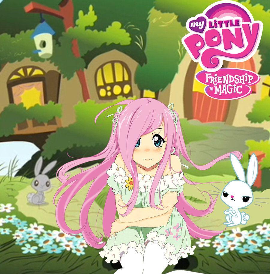 MLP Fluttershy Anime version by Sazuko on deviantART