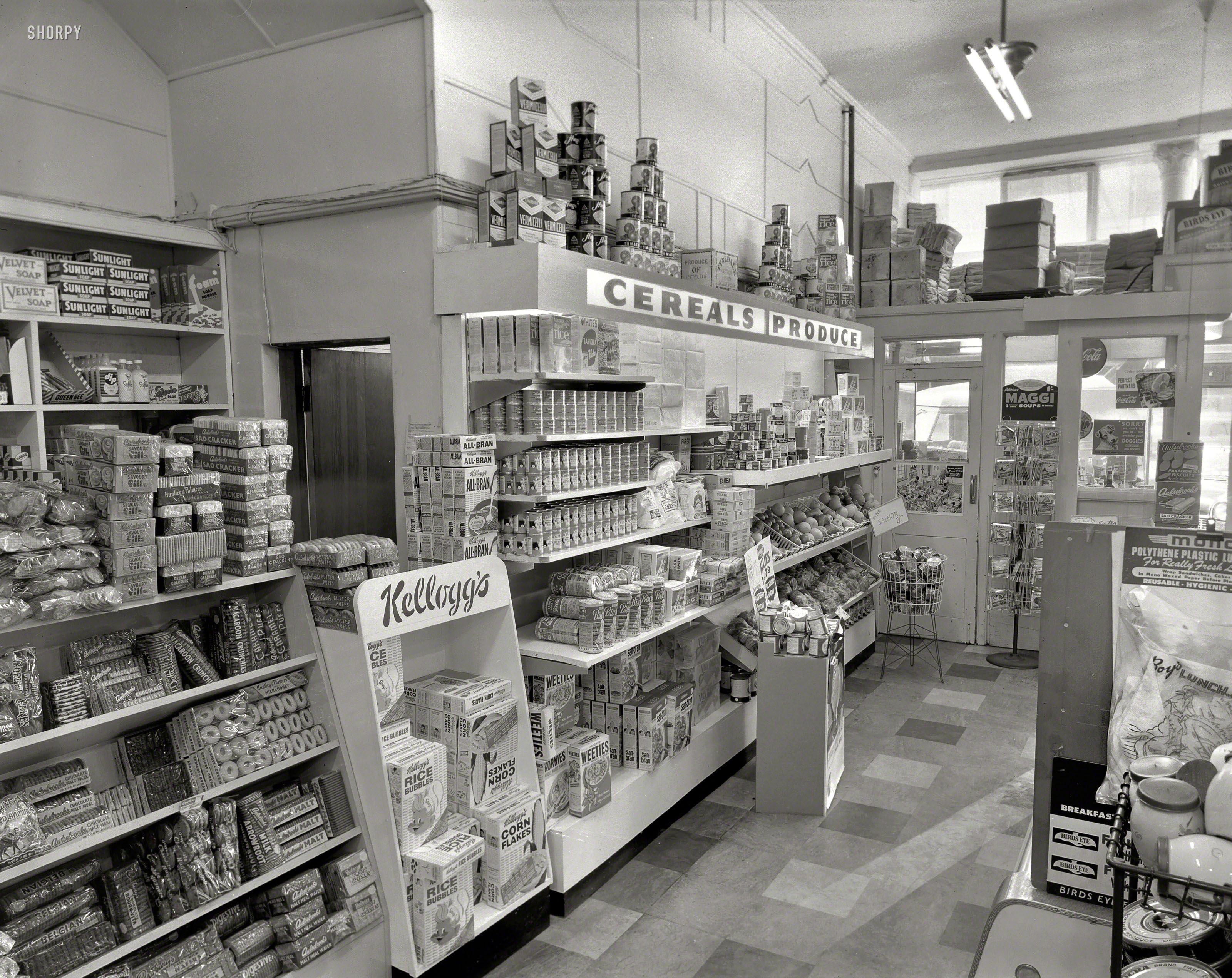 Oct 23, 1959 Hackensack, New Jersey Bloomingdales Bergen County Delicacies