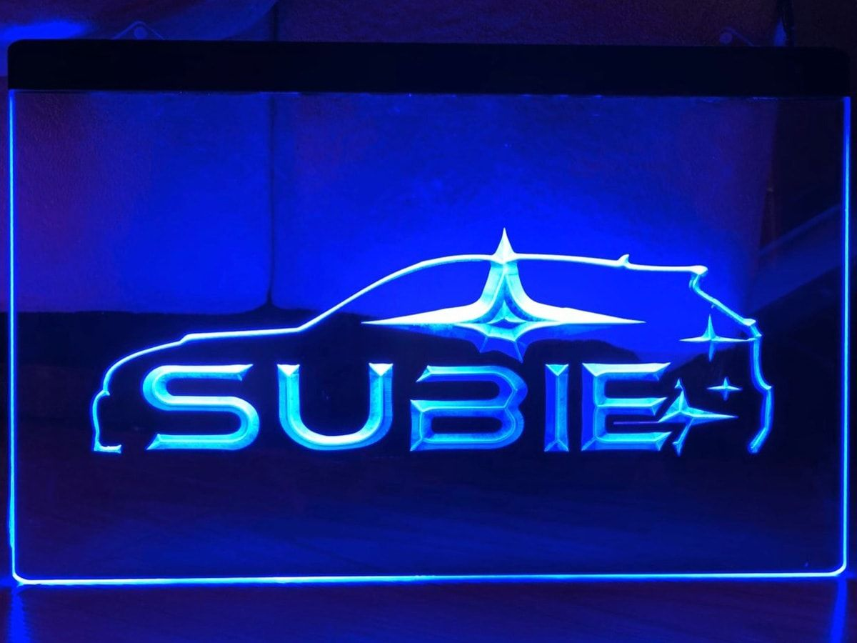 SUBIE 3D LED Neon Sign home decor craft in 2020 Neon