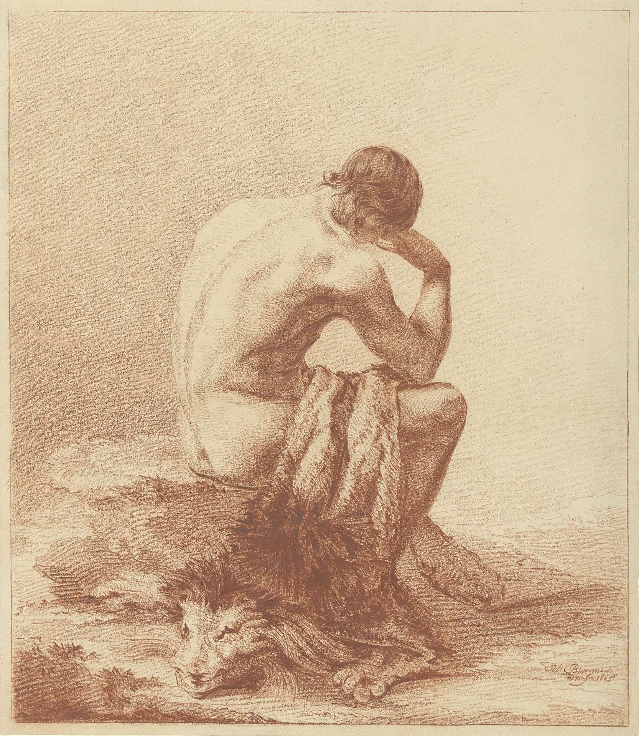 De leeuwendoder, Joannes Bemme, 1805