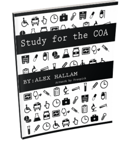 I Really Nice Study Guide To Help Pass The Certified Ophthalmic Assistant COA Exam