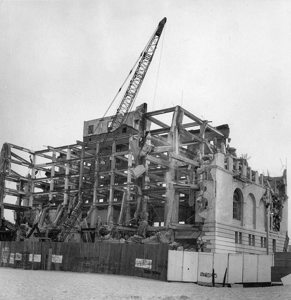 Hermosa Beach California Biltmore Hotel Torn