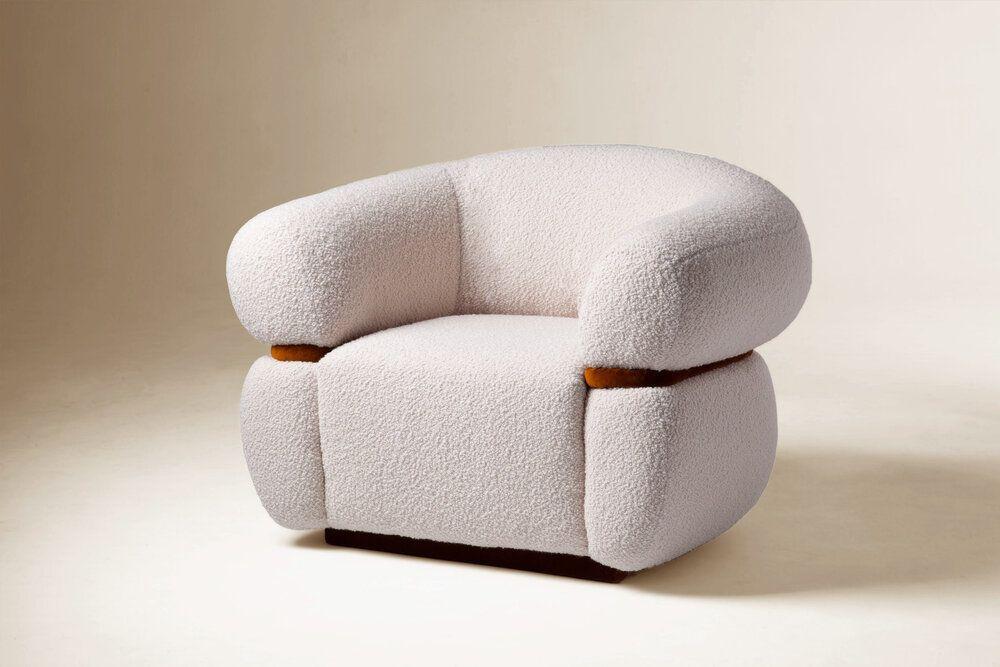 Malibu Armchair — MARIE BURGOS COLLECTION   Modern Furniture + Home Décor in 2021   Armchair ...