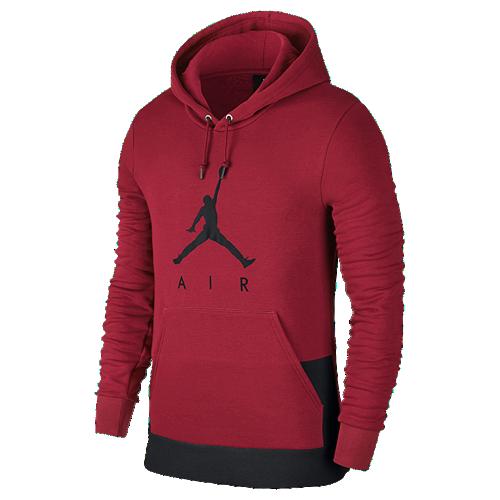 Jordan Jumpman Air Graphic Pull Over Hoodie - Men's