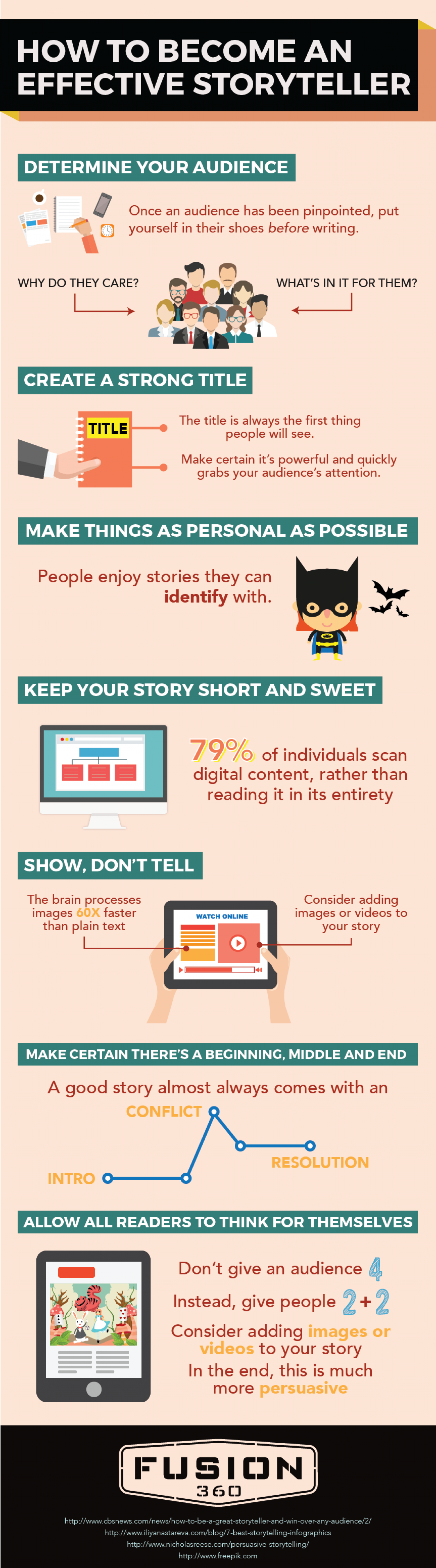 How To Become An Effective Storytellergraphic