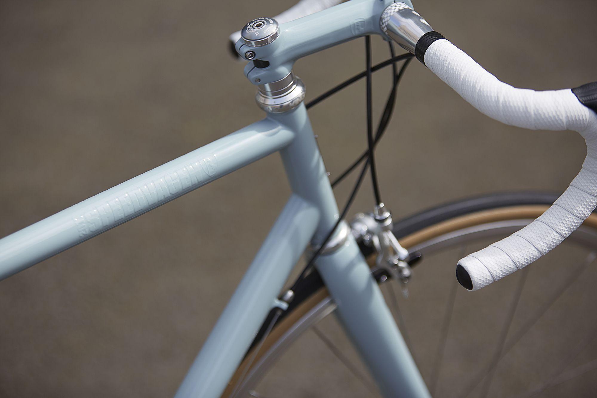 A Classic Speedvagen With Silver Components Classic Road Bike Bike Road Bike