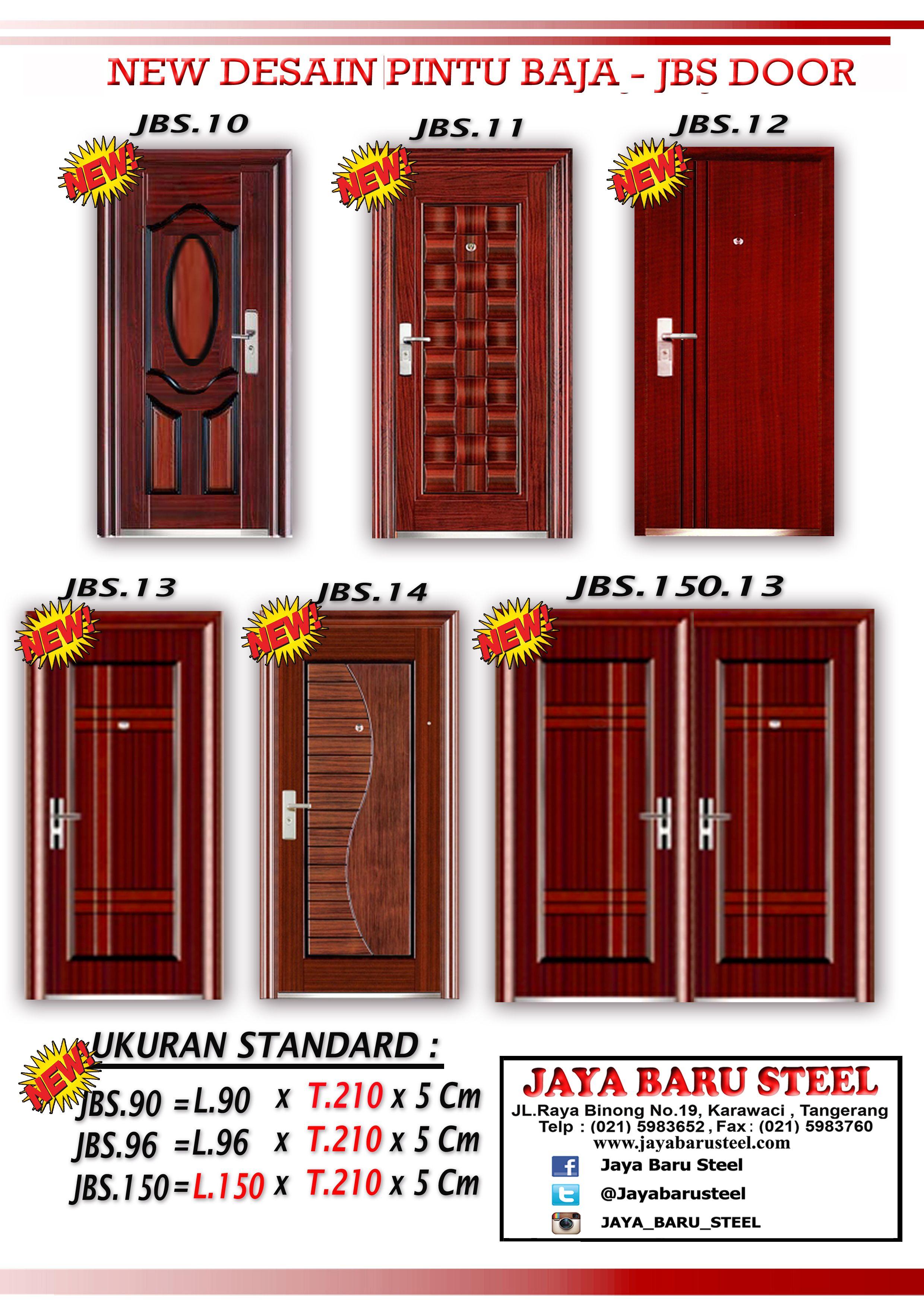 Alternatif Jual Pintu Rumah Minimalis Dari Baja JBS ...