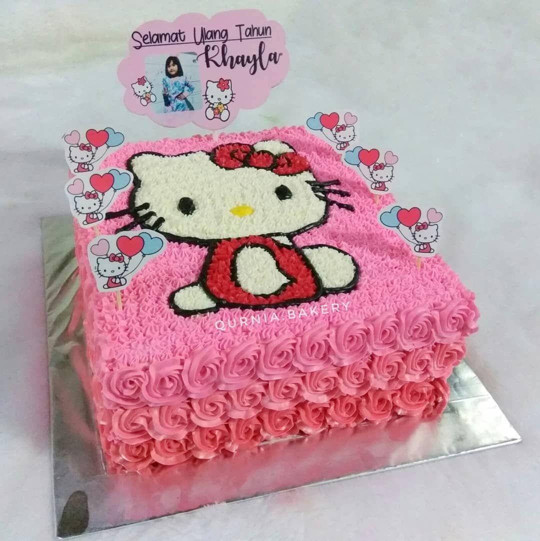 Pin On Hello Kitty Cake