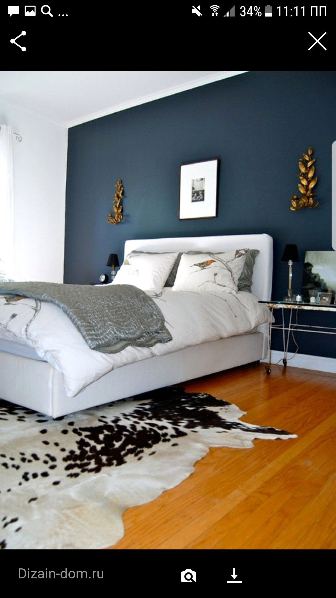 Accent Wall Color Home Blue Accent Walls Home Bedroom