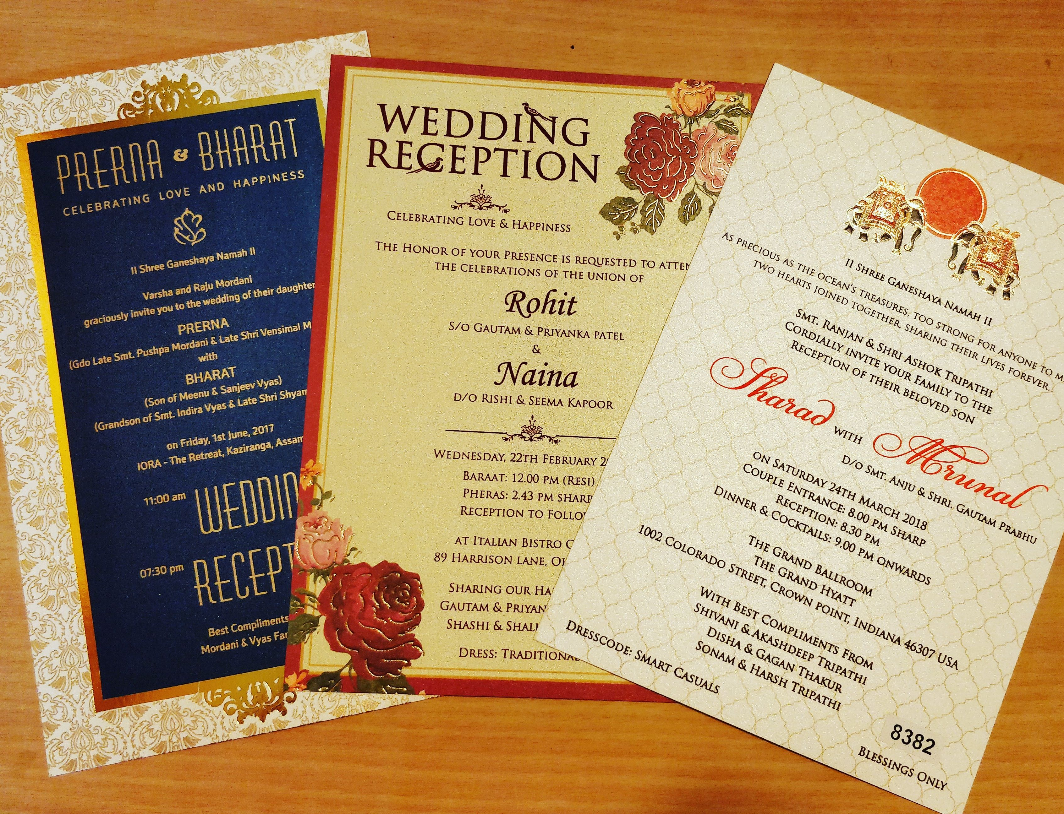 What S Your Pick Royal Floral Or Traditional Indian Wedding Invitation Wedding Invitations Canada Indian Wedding Invitations Indian Wedding Invitation Cards
