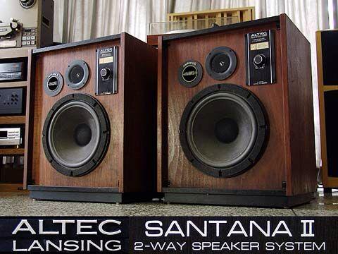 Altec Santana II | Audiophile | Altec lansing, Audio studio, Hifi audio