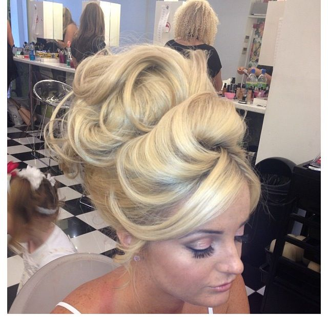 Intricate Wedding Hair Up Do: My Absolute Favorite Type Of Updo...big, High, Backcombed