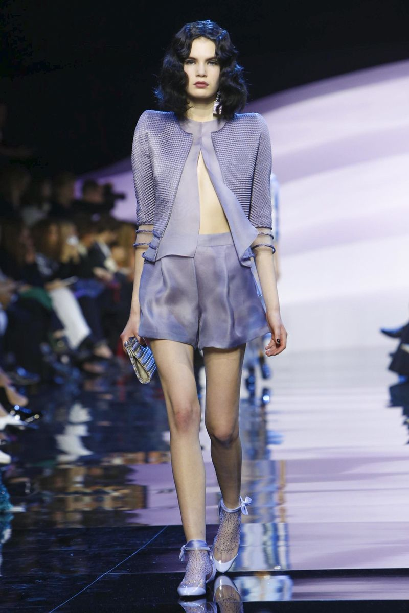 Giorgio Armani Privé Couture Spring Summer 2016 Paris