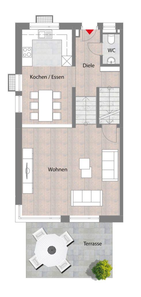 Doppelhaushälften in Fürth Hardhöhe Greifswalder Straße Schultheiß Projektentwicklung AG