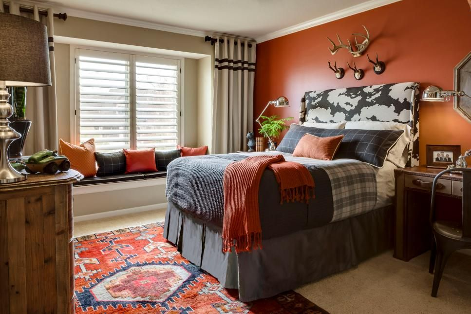 14 Ways To Decorate With Cayenne Orange Boy Room Paint Cool