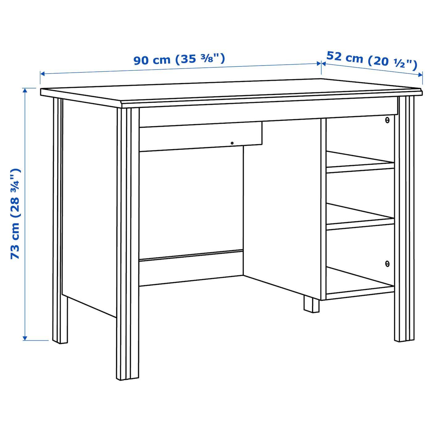 Brusali Desk Brown 35 3 8x20 1 2 Ikea In 2020 Ikea Brusali Brusali Ikea