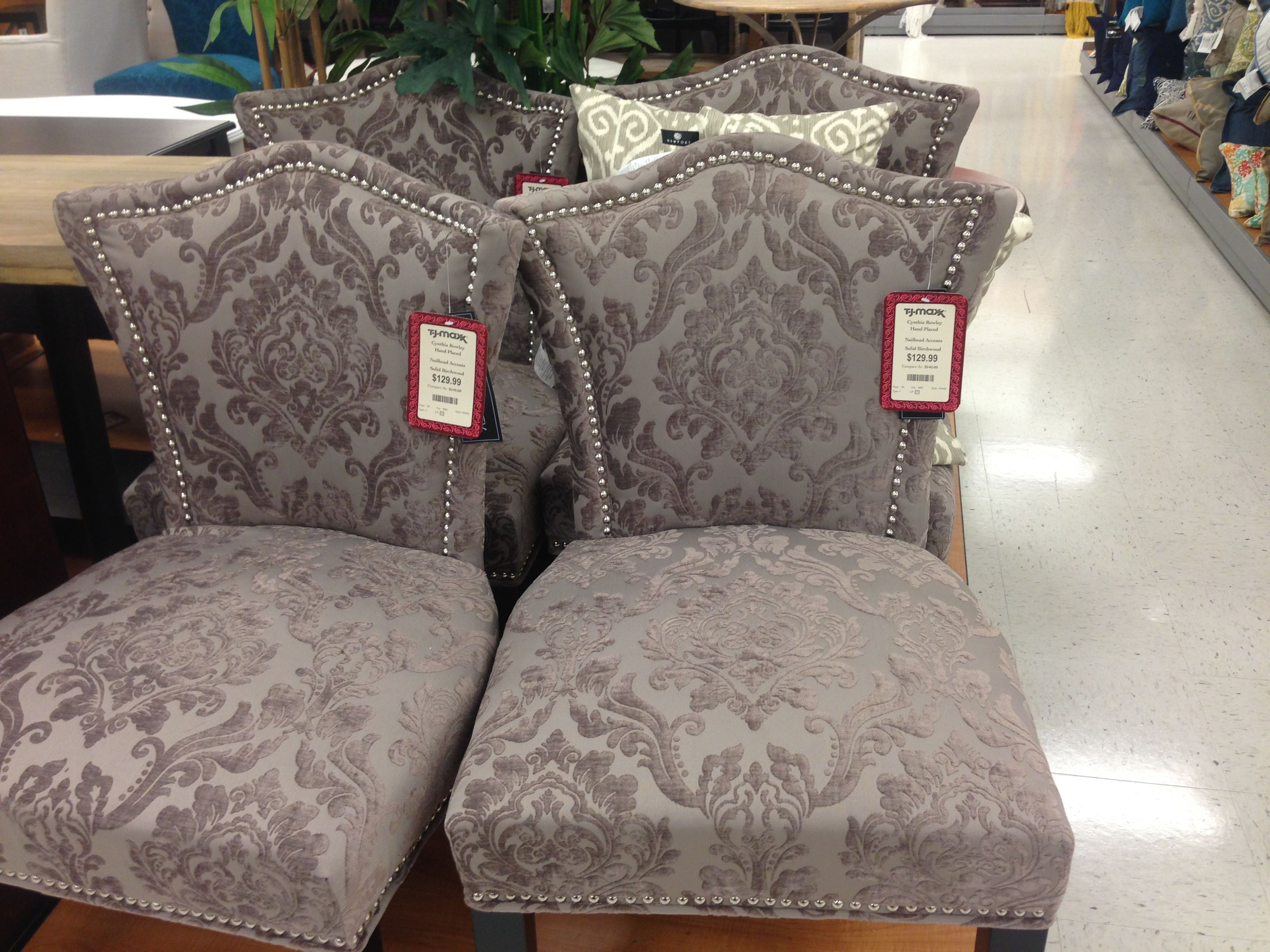 I Found Four Of These Gray Chairs In Portland Area Homegoods And