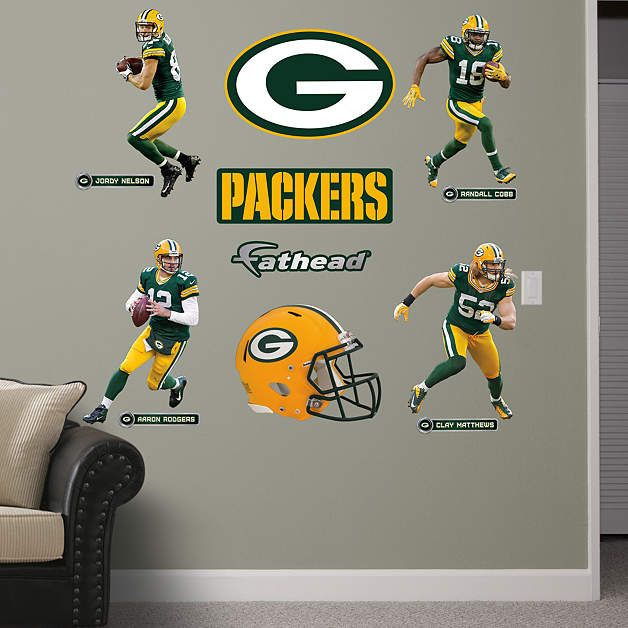 Green Bay Packers Power Pack. Packers NflWall Decal ... Part 13