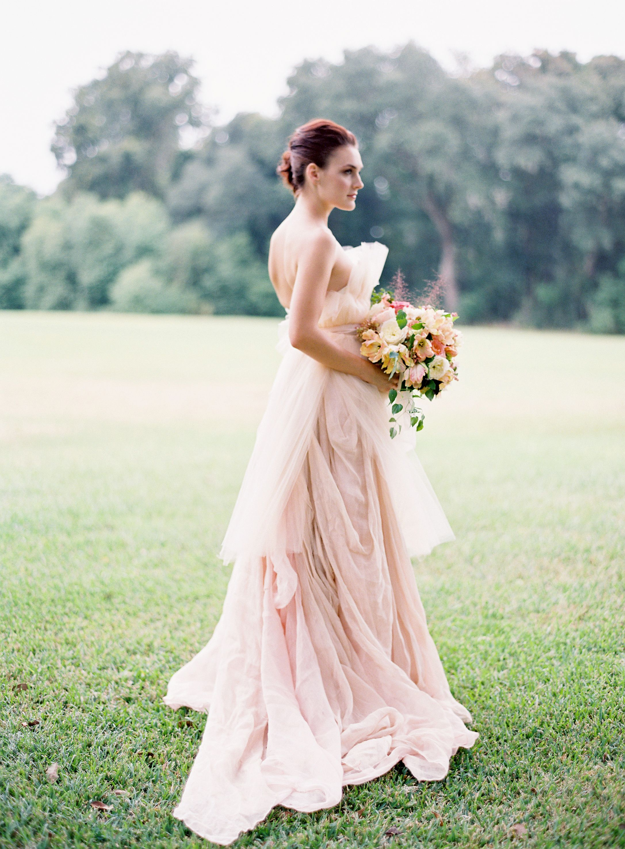 Beautiful gown by carol hannah whitfield hair styling by wedding dress ombrellifo Gallery